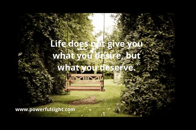 unique quote on life